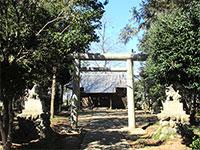 湯殿神社(西別府)鳥居