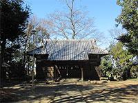 湯殿神社(西別府)