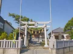 花和田香取神社鳥居
