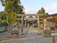 彦川戸香取神社鳥居