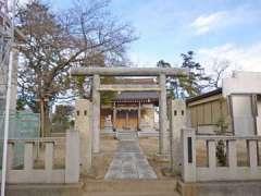 富足神社鳥居