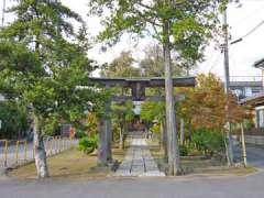 上口香取神社鳥居