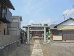 大廣戸香取神社鳥居