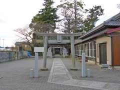 茂田井熊野神社鳥居