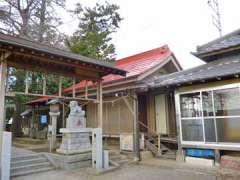 茂田井熊野神社神楽殿