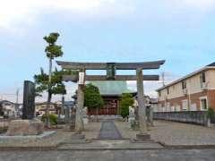 中曽根香取御嶽神社鳥居