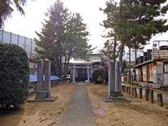 笹塚日枝神社鳥居