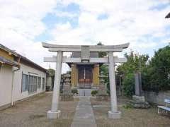 鎌倉稲荷神社鳥居