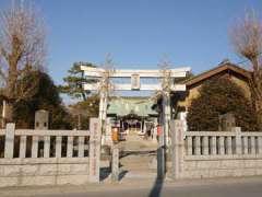 戸ケ崎香取神社鳥居
