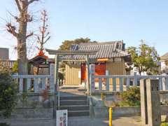 前谷稲荷神社鳥居