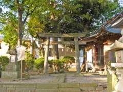 谷中稲荷神社鳥居