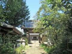 満行寺山門