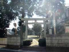西堀氷川神社鳥居