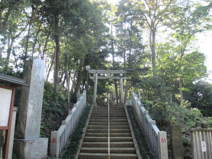 武野神社。新座市野寺の神社、旧村社