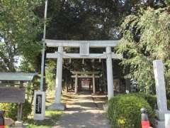大和田氷川神社鳥居