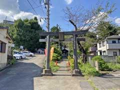 白子熊野神社鳥居