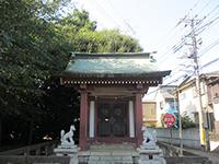 菅沢稲荷拝殿