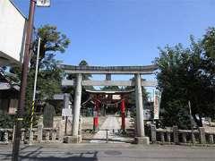桶川稲荷神社鳥居
