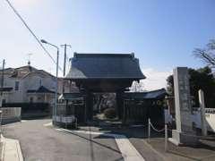 圓蔵院山門