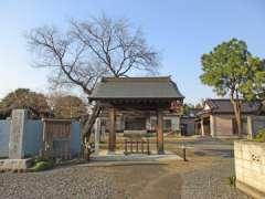 満蔵寺山門