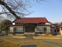 満蔵寺本堂