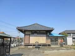 萬行寺本堂