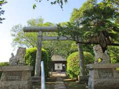 武國神社鳥居