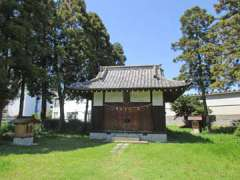 雷電神社社殿