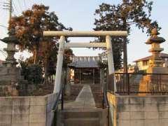 五反田神明神社鳥居