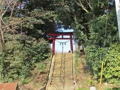 片柳熊野神社鳥居