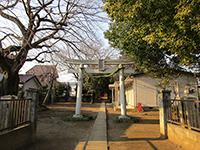 東宮下八幡神社鳥居