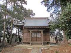山村神社社殿