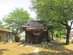 穂積神社社殿