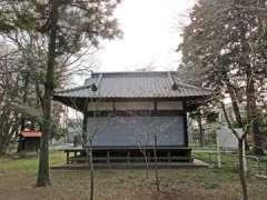 指扇氷川神社神楽殿