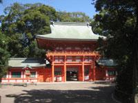 氷川神社神門