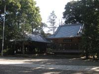 氷川神社額殿