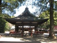 氷川神社舞殿