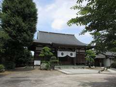 長久寺本堂