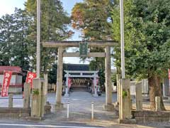 坂戸神社鳥居