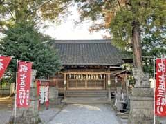 坂戸神社社殿