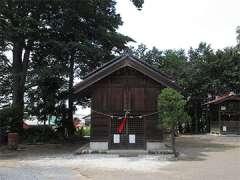 国渭地祇神社神楽殿