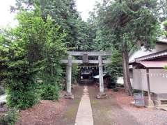 戸宮八幡神社鳥居