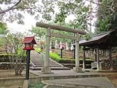 八坂神社(新久)鳥居