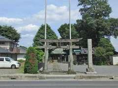 白鬚神社(柏原)鳥居