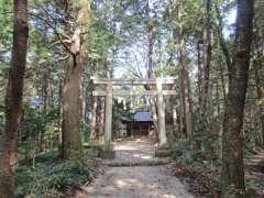 金子神社鳥居