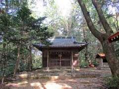 金子神社社殿