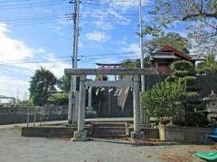 稲荷神社(根岸)鳥居