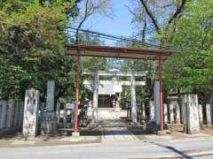 白鬚神社(野田)鳥居