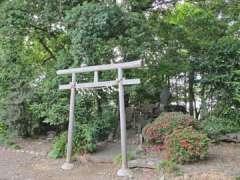 境内社富士嶽・松尾・大山