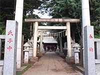 熊野神社(藤沢)鳥居